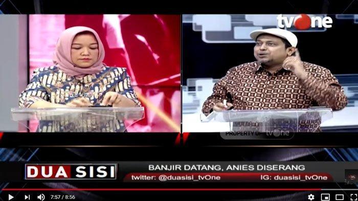 Haikal Hassan Sebut Anies Berprestasi Tangani Banjir Jakarta, Anggap Penjegalan Bila Ada yang Serang