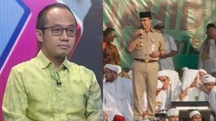Soroti Ucapan Anies yang Sebut Peserta Reuni 212 Capai Jutaan, Yunarto Wijaya Pertanyakan Sosok Ini