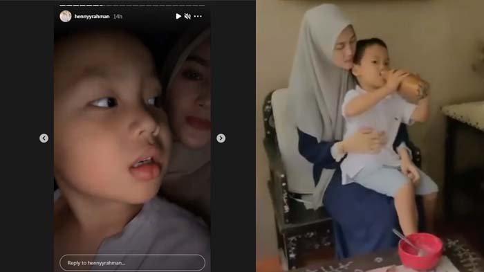 Henny Rahman Pamer Kedekatan Suapi Anak Larissa Chou, Alvin Faiz Ingin Istri Barunya Dipanggil Ini