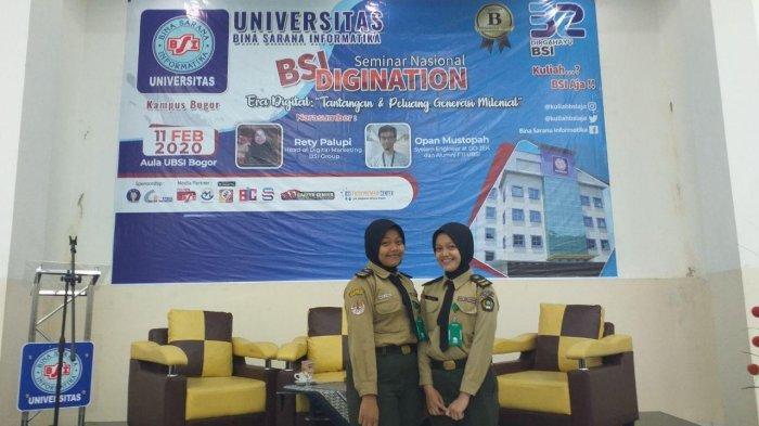 Ikut Seminar Nasional BSI Digination, Pelajar Kota Bogor Lebih Melek Era Digital Masa Kini