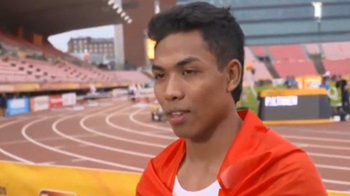 Jadwal Lalu Muhammad Zohri di Olimpiade Tokyo 2021, Indonesia Siap Ukir Prestasi Cabor Atletik