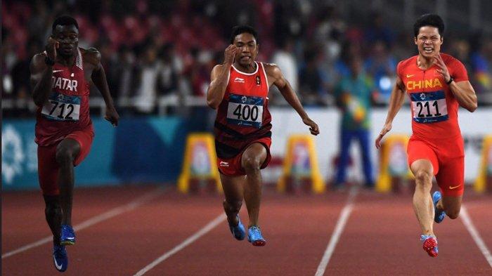 Atletik Olimpiade Tokyo 2021 - Lalu Muhammad Zohri Tampil Hari Ini di Nomor 100 Meter Putra
