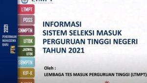 Ada Penyesuaian Jadwal Pelaksanaan UTBK-SBMPTN 2021, Ini ...