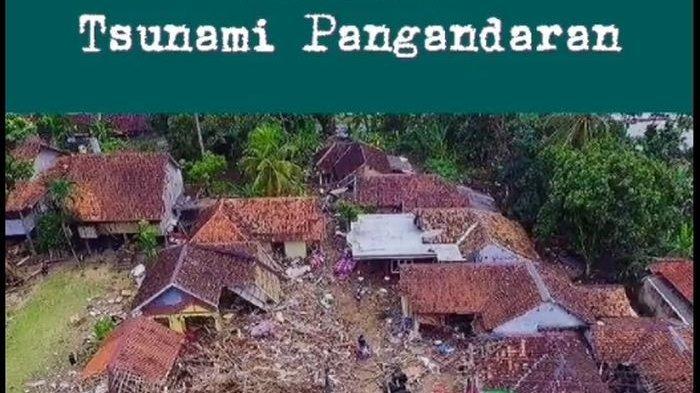 15 Tahun Mengenang Tsunami Pangandaran, Warga Unggah Video Kehancuran Setelah Diterjang Gelombang
