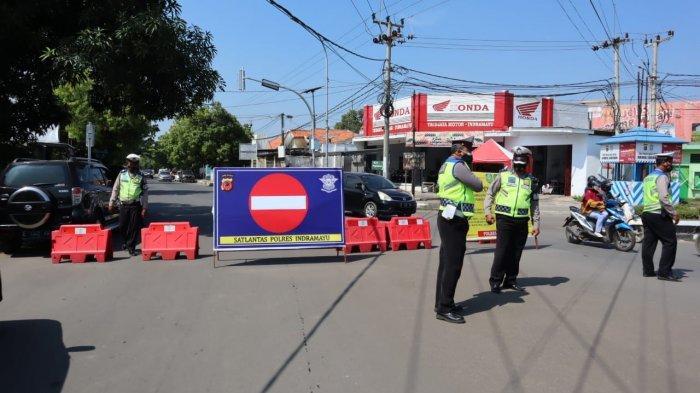 4 Titik Penyekatan di Indramayu Selama PPKM Darurat, Kendaraan Dari Luar Daerah Diputarbalikan
