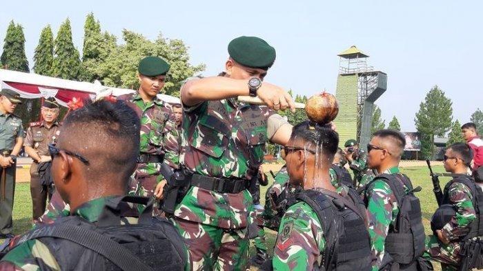 500 Personel Satgas Yon Armed 9 Dilepas ke Daerah Rawan di Maluku Utara, Tujuannya untuk Hal Ini