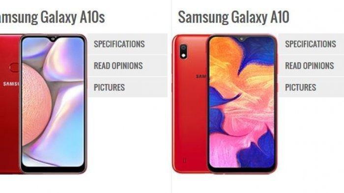 Mau Beli Hp? Nih Samsung Punya Keluaran Bagus Galaxy A10s, Berikut Spesifikasinya Dibanding A10