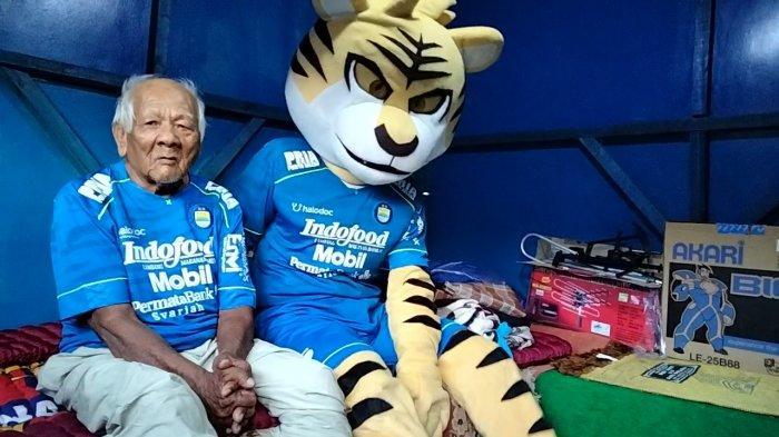 Abah Sarji Banjir Bantuan dari PT PBB dan Dedi Mulyadi, Kini Saungnya Mirip Basecamp Persib Bandung