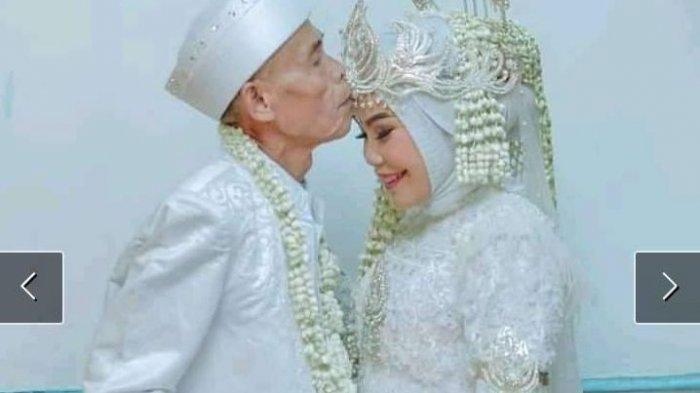 Kakek-kakek Tajir Nikahi Gadis 18 Tahun, Gayanya So Sweet Banget, Mas Kawinnya Bukan Barang Murahan