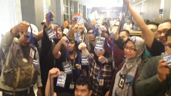 Wartawan Boikot Acara Launching Persib Bandung, Kecewa pada PT PBB: Mereka Menghalangi Kerja Pers