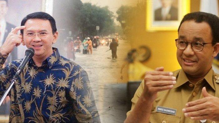 REAKSI Warga Jakarta di Medsos soal Banjir, Anies Baswedan Diolok-olok, Nama Ahok Dielu-elukan Lagi