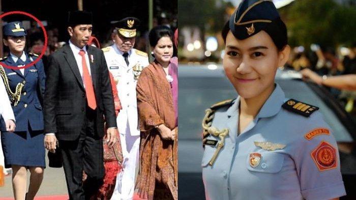 Polos Tanpa Makeup, Wajah Ajudan Cantik Iriana Jokowi, Sandhyca Putrie Tetap Mempesona, Mau Lihat?