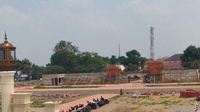 Revitalisasi Alun-alun Majalengka Bakal Rampung Akhir Tahun 2020