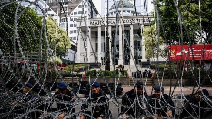 Polisi Siagakan 3 Lapis Pengamanan Amankan Jalannya Sidang MK