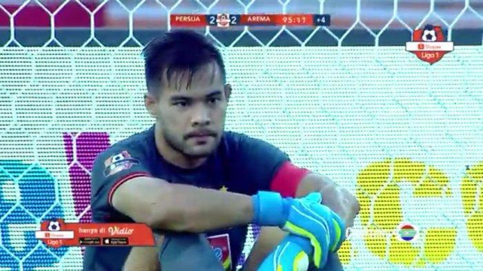 Lawan Persela Lamongan, Persija Jakarta Tanpa Kiper Andritany, Mantan Persib Bandung Siap Gantikan
