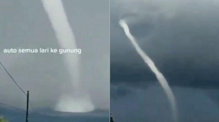 Viral Video Angin Putih Beliung di Laut di Jeneponto Tuai Doa dari Netizen, BMKG: Bahaya dan Jauhi