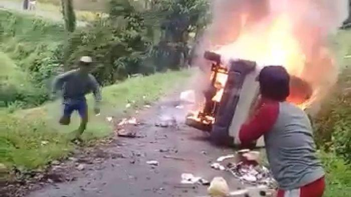 Identitas Sopir Angkot yang Terbakar Hebat Diketahui, Korban Tewas Bukan Karena Terbakar