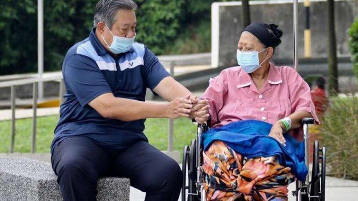 BREAKING NEWS - Ani Yudhoyono Tutup Usia, Begini Keterangan dari Dokter Kepresidenan