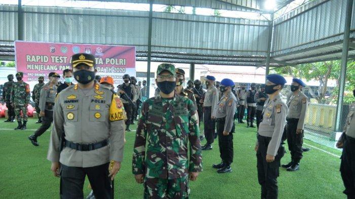 Pimpin Apel Pergeseran Pasukan, Kapolres Indramayu Kerahkan 12.659 Personel Gabungan Amankan Pilkada