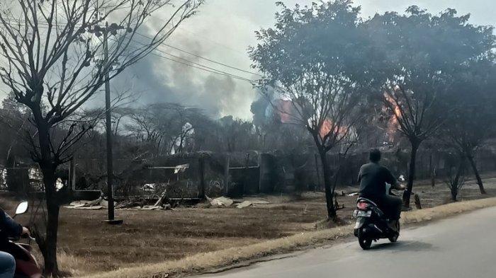 Hari Ketiga, Api yang Membakar Tangki di Kilang Pertamina Balongan Indramayu Sudah Mengecil