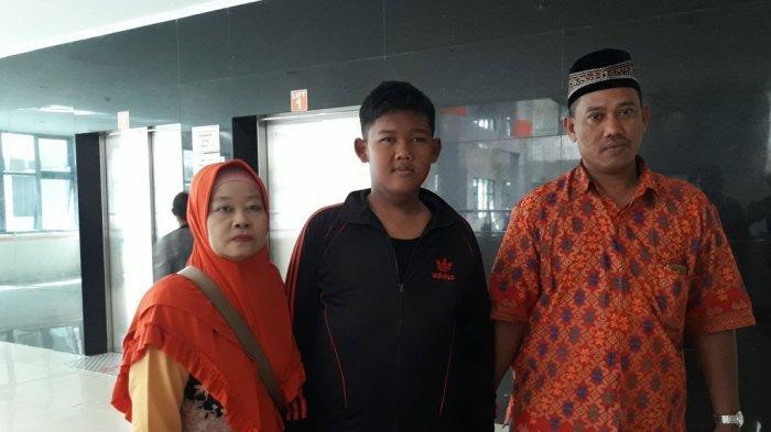 Aria Permana Sedang Diperiksa Oleh Tim Dokter Di RSHS Bandung
