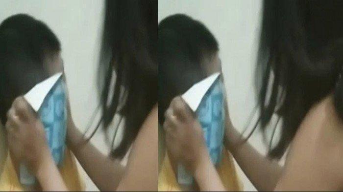 VIDEO VIRAL Asisten Rumah Tangga Kejam, Ikat Tangan dan Sekap Anak Majikan Pakai Kertas