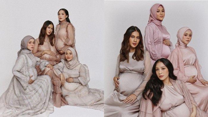 Perutnya Lebih Besar dari Aurel Hermansyah, Lesty Kejora Keceplosan Bilang Bayinya Sudah Nendang