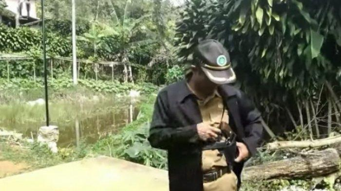 VIRAL Seorang ASN di Sukabumi Bawa-bawa Pistol, Didatangi Polisi, Ini Faktanya