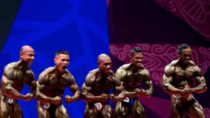 Atlet Binaraga Papua Perkasa, Sabet 3 Medali Emas dari 7 Nomor yang Dipertandingkan
