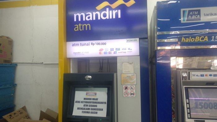 Penasaran Soal Jaringan Sistem Bank Mandiri Eror Warga Sengaja Cek Saldo Di Atm Tapi Atm Eror Tribun Cirebon