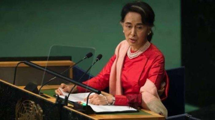 Aung San Suu Kyi Ditahan, Militer Myanmar Ambil Alih Kekuasaan di Pemerintahan Selama 1 Tahun