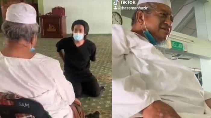 Ayah yang Sakit Kaki Pilih Tinggal di Masjid 3 Tahun, Tak Bisa Dagang Karena Pembatasan Aktivitas