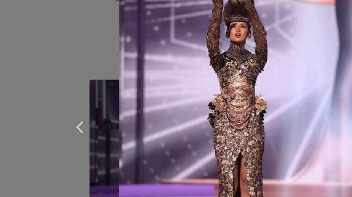 Ayu Maulida Wakili Indonesia di Ajang Miss Universe 2021, Tampil Memukau Pakai Kostum Komodo Dragon