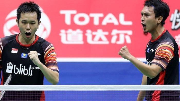 LIVE STREAMING Pertandingan The Daddies Vs Taiwan Dalam BWF World Tour Finals 2019