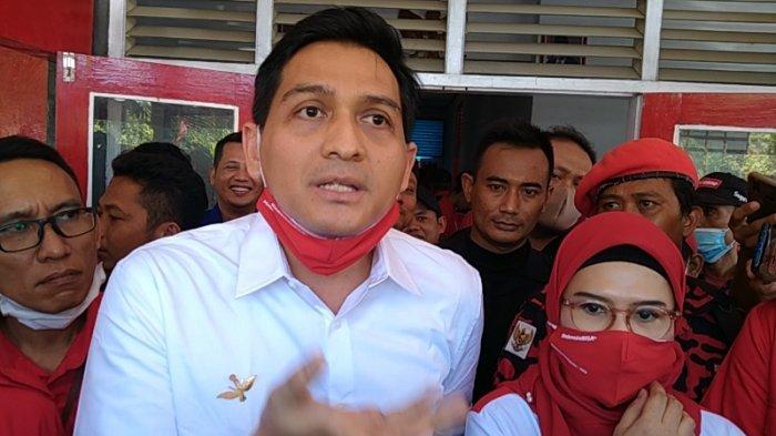 Bakal Calon Wakil Bupati Indramayu, Lucky Hakim, Selasa (1/9/2020).
