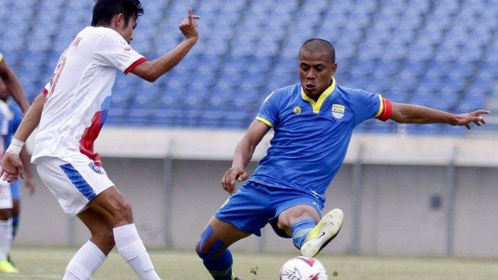 Bandung United FC Gagal Petik Kemenangan dari PSPS Pekanbaru di Stadion Si Jalak Harupat