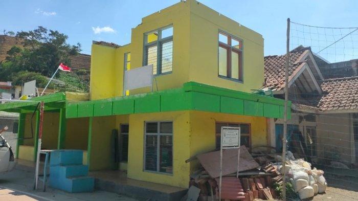 Ada Angin Puting Beliung di Majalengka, Bangunan Gedung SD Tejamulya II Rusak
