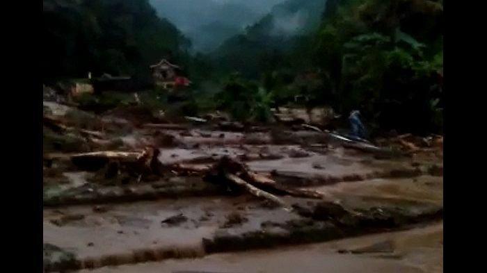Banjir Bandang dan Longsor Terjang Citengah Sumedang, Tiga Orang Jadi Korban Terseret Arus Banjir