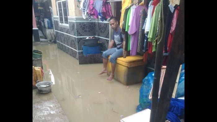 Banjir Rob Kembali Terjang Kawasan Pesisir Indramayu, Pagi Ini Lebih Besar dari Hari-hari Sebelumnya