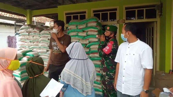 Bantuan Non Tunai Bagi Warga Terdampak Covid-19 di Indramayu Sudah Mulai Disalurkan