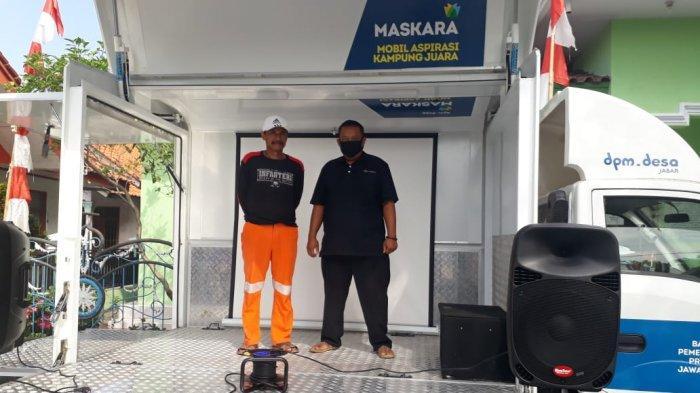 Pemdes Pilangsari Majalengka Dapatkan Bantuan Maskara dari Pemprov Jabar