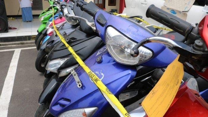 Polsek Baleendah Sikat Komplotan Maling Motor, Sita 6 Unit Motor, Semua Dilakukan dalam Waktu 3 Jam