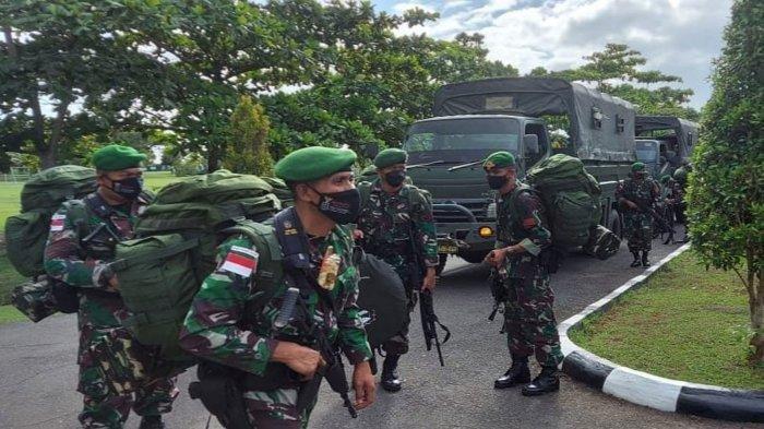 Pasukan Setan Batalyon Yonif 315/Garuda.Tiba di Merauke, Siap Hadapi KKB Papua di Wilayah Rawan