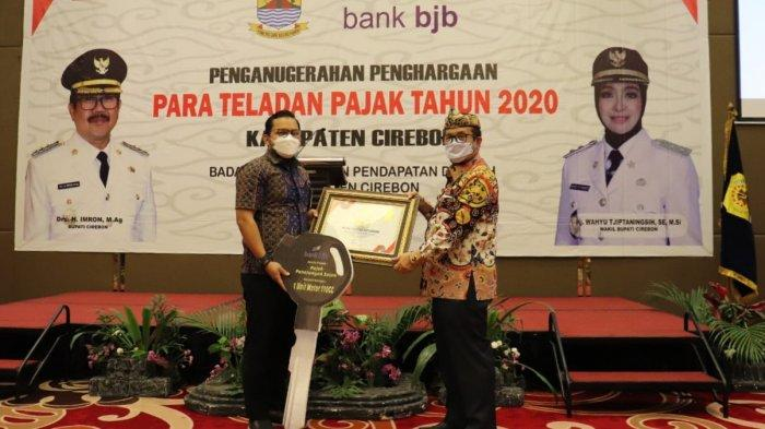 Realisasi Penerimaan Pajak Kabupaten Cirebon Selama 2020 Melampaui Target