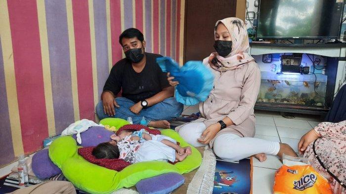 Bayi Kembar Siam di Sukabumi Queenetha dan Queenesha, Butuh Uluran Tangan Orang Baik untuk Operasi