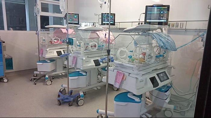 Bayi Kembar Tiga Yang Diberi Nama Pandega di Pangandaran Itu Lahir Hanya Beda 1 Menit Sekali