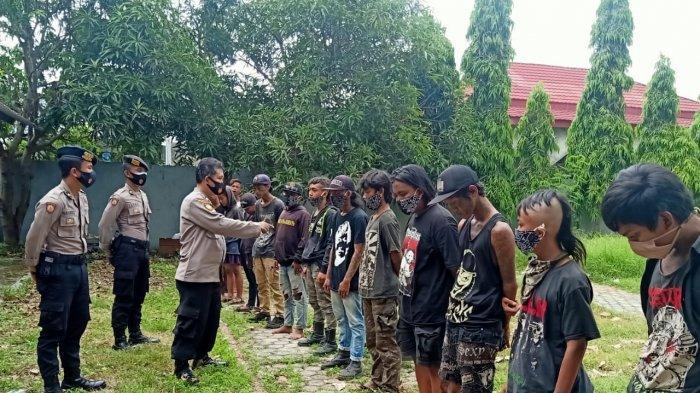 Belasan Anak Punk di Indramayu Terjaring Razia, Suka Minta Uang Sehingga Meresahkan Masyarakat