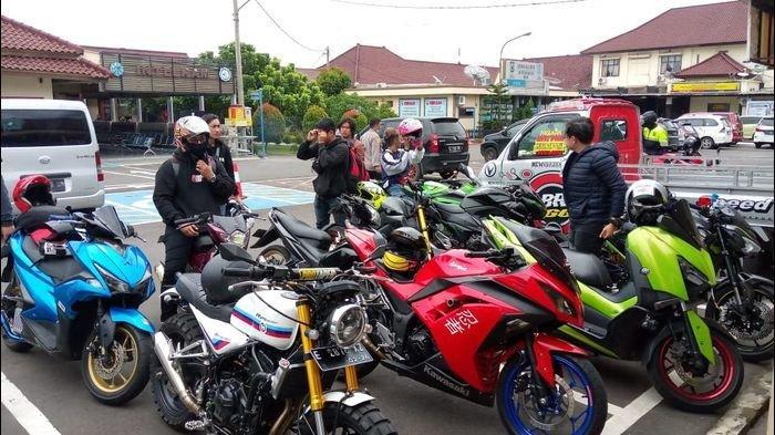 Ganggu Masyarakat, 13 Motor Berknalpot Bising Diamankan Polisi Majalengka
