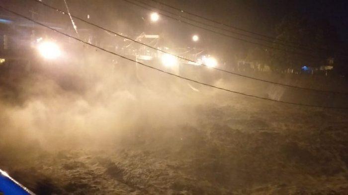 SIAGA 1, Air Bendung Katulampa Membeludak, Banjir Kiriman Bakal Tiba di Depok Sekitar Pukul 21.00