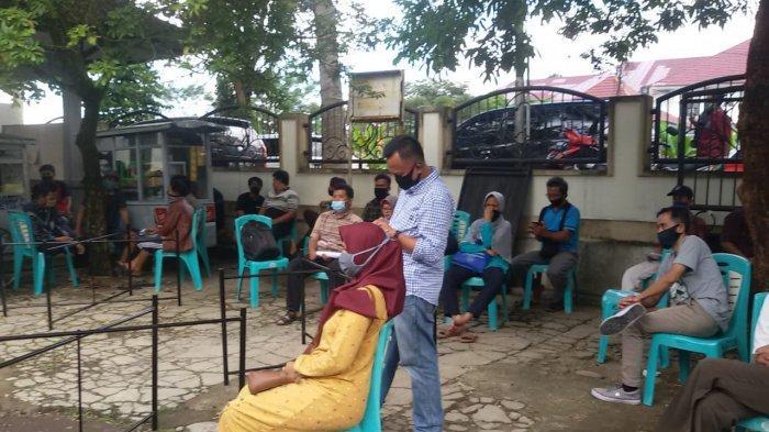 Pemudik Rela Berjubel di Posko Covid-19 Ciamis Berburu SIKM Supaya Bisa Balik ke Jakarta